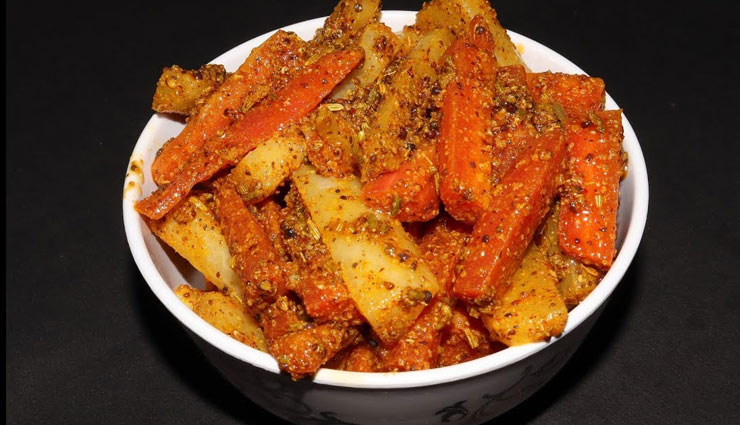 Recipe- Delicious And Easy To Make Gajar Mooli Ka Achar