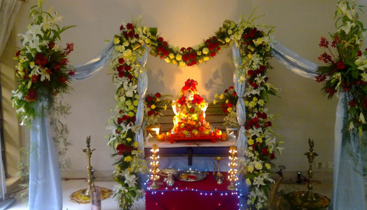 Ganesh Chaturthi 2018: 5 Decoration Ideas For The