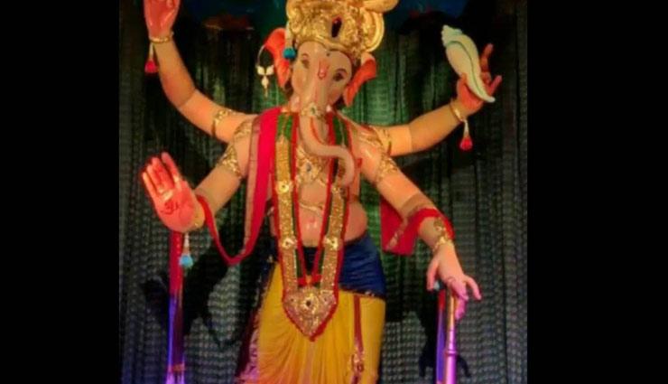 Ganesh Chaturthi 2018 : 'गणेश गैली' मुम्बई का राजा जाना जाता है अपनी विशेषताओं के लिए