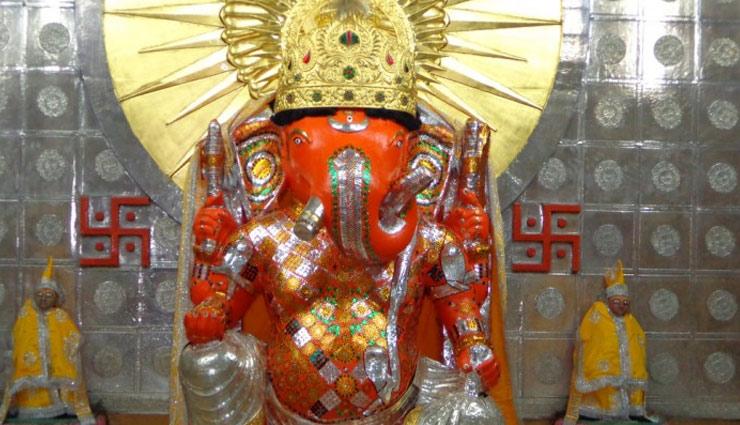 bina sund,lord ganesha,ganesh chaturthi,ganesh temple,rajasthan temple,ganesh chaturthi 2018 ,बिना सूंड वाले गणपति जी का मंदिर, गणेशजी, गणेश मंदिर, गणेश चतुर्थी, अनोखा मंदिर,  गढ़ गणेश मंदिर, राजस्थान  मंदिर, अनोखा मंदिर
