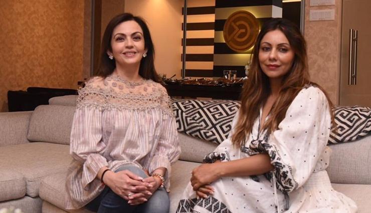 Gauri Khan designs Mukesh Ambani's Antilia lounge area in collaboration with Nita Ambani