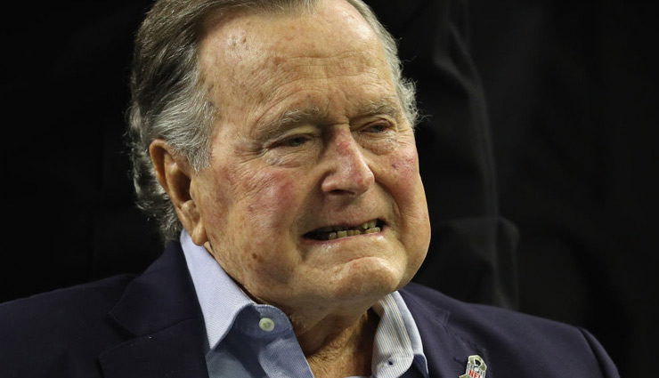 Former US President George HW Bush dies at the age of 94