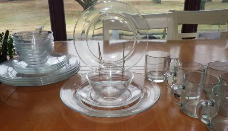 glassware cleaning tips,glassware,cleaning glass utensils,household tips,home decor tips ,हाउसहोल्ड टिप्स, होम डेकोर टिप्स , कांच के बर्तनों को साफ करना , कांच के बर्तनों को चमकाने के टिप्स