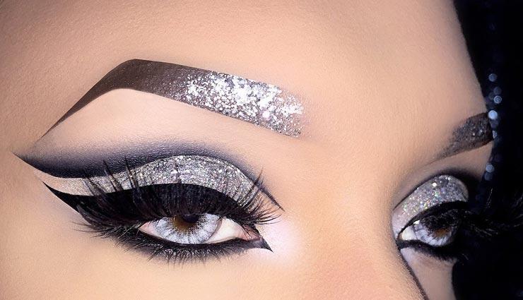 beauty tips,beauty tips in hindi,glitter on face,face beauty,makeup tips ,ब्यूटी टिप्स, ब्यूटी टिप्स हिंदी में, चहरे पर ग्लिटर का इस्तेमाल, मेकअप टिप्स