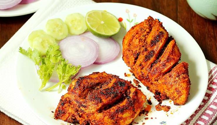 tandoori style grilled chicken,chicken recipe,grilled chicken recipe,main course recipe