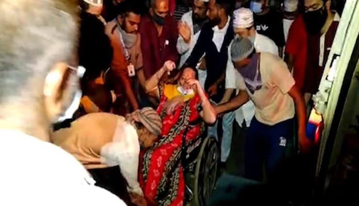 गुजरात: भावनगर के कोविड केयर सेंटर में लगी आग, 68 कोरोना मरीज दूसरे अस्पताल में शिफ्ट