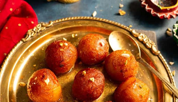 bread gulab jamun,dessert recipe,sweets recipe,bread recipe