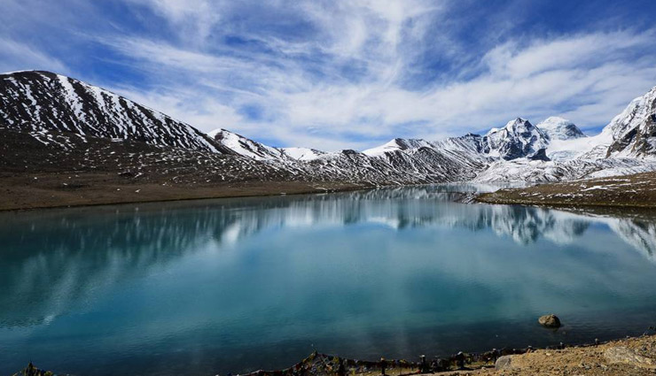 high altitudes lakes of india,changu lake,cholamu lake,dal lake,gurudongmar lake,pangong lake