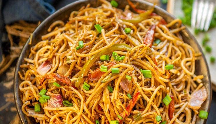 Recipe- Chinese Style Veg Hakka Noodles
