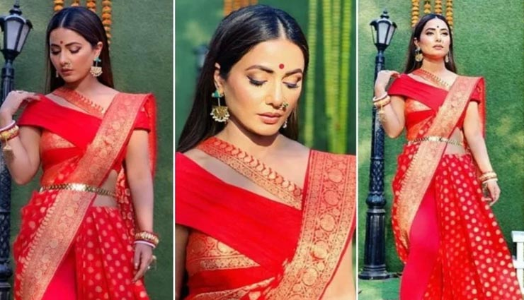 fashion tips,fashion tips in hindi,diwali special,diwali 2020,hina khan look,celebrity fashion ,ज्योतिष टिप्स, ज्योतिष टिप्स हिंदी में, दिवाली स्पेशल, दिवाली 2020, हिना खान साड़ी लुक, सेलेब्रिटी फैशन
