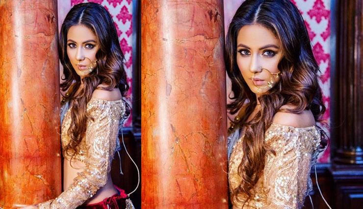 ट्रेडिशनल लेकिन ग्लैमरस अंदाज में नजर आई हिना खान, देखे तस्वीरें
