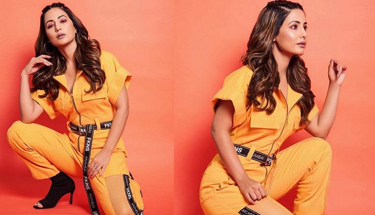 Birthday Spcl : यलो आउटफिट में नजर आया हिना खान का स्टनिंग लुक, देखे तस्वीरें