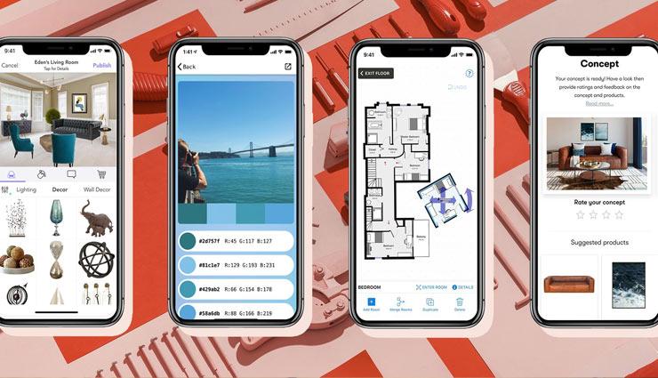 mobile apps for home decor. home decor tips,mobile applications for house decor,household tips ,हाउसहोल्ड टिप्स, होम डेकोर टिप्स, मोबाइल एप की मदद से सजाएं अपना घर