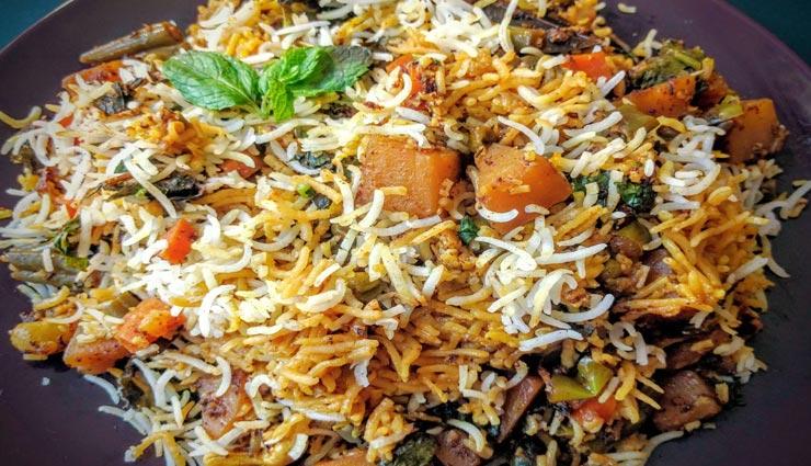 ईद के खास मौके पर बनाए हैदराबादी दम वेज बिरयानी, स्वाद बना देगा आपको दीवाना #Recipe