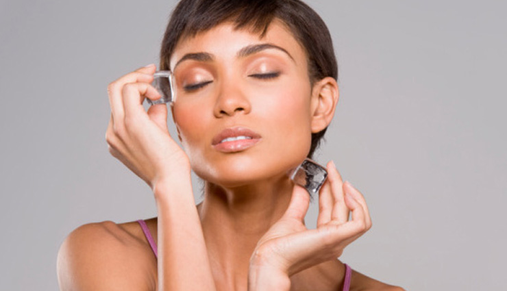 5 Ways To Get Glowing Skin in Summer Using Ice Cubes