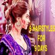 Navratri Special- 9 Gorgeous Hairstyle for 9 Days of Navratri