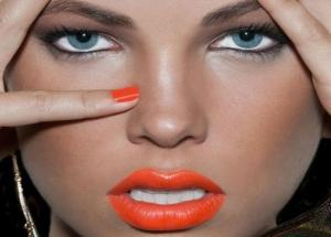 Right Orange Shade for Your Lips