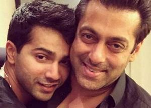 Varun Trying to Step into Salman Shoes
