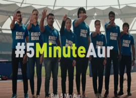 Khelo India 2019- #5MinuteAur aims to inspire India to come out and play