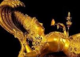 બાંગ્લાદેશમાં રેડમાંથી 70 કિલોની વિષ્ણુ ભગવાનની આઇડોલ મૂર્તિ મળી આવી હતી જાણો અહીં