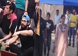 PICS- Leaked pics of Aamir and Kareena from the sets of Laal Singh Chaddha Go Viral