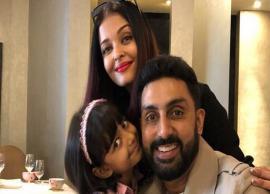 PICS- Abhishek Bachchan join wife Aishwarya Rai and daughter Aaradhya in London vacation
