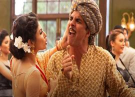 VIDEO- Mouni Roy Slapped Akshay Kumar on The Sets of GOLD