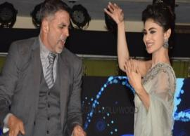 VIDEO- Akshay Kumar and Mouni Roy Tabletop Dance is All You Need To See