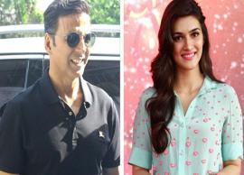 Akshay Kumar and Kriti Sanon excited to shoot in Jaisalmer palace for Housefull 4