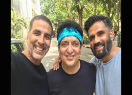 Akshay Kumar and Sunil Shetty Reunion is just Nostalgic