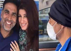 Akshay Kumar Spotted Taking Wife Twinkle Khanna To Hospital