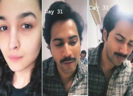 How Alia Bhatt can't stop making fun of Varun Dhawan on the sets of 'Kalank'