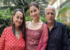 Alia Bhatt on working with parents, 'If three of us work together in a film, it would be a blast on the set'