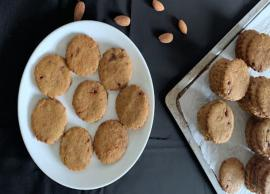 Recipe - Almond Jaggery Cookies For Perfect Tea Time