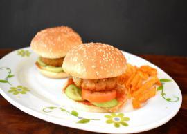 Recipe- Spicy Homemade Aloo Tikki Burger