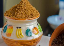 Recipe- Alsi Ki Dry Chutney