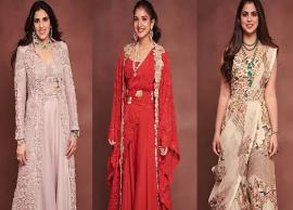 Shloka, Radhika and Isha Ambani Broke The Internet With Their Regal Fashion Choices-Photo Gallery