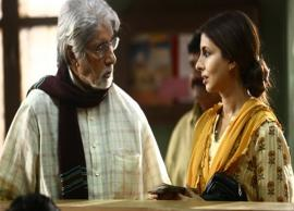 PICS- Shweta Bachchan Nanda Makes Acting Debut With Dad Amitabh Bachchan-Photo Gallery
