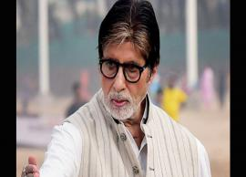Amitabh Bachchan shook 150 hands in just a few hours