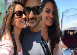 ग्रीस में पति रोहित रेड्डी संग छुट्टियां बिता रही है 'नागिन 3' की विष उर्फ अनीता हसनंदानी, देखे बोल्ड अंदाज़-Photo Gallery