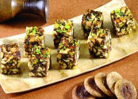Recipe- Healthy and Delicious Sugar Free Anjeer Ki Barfi