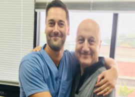 Anupam Kher calls Ryan Eggold 'coolest co-actor'