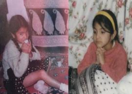 PICS- Anushka Sharma floods social media with adorable childhood pictures
