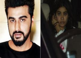 Arjun Kapoor Lashes Out at Website For Calling Jhanvi Sexy and Revealing