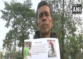 Assam man travels 600 km on cycle to meet Salman Khan