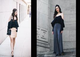 5 Tips To Look Gorgeous in Asymmetric Cold Shoulder Top