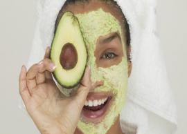 5 Homemade Avocado Face Packs For Beautiful Skin