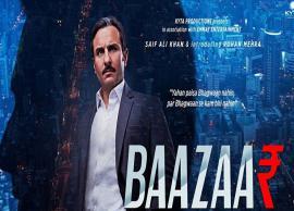 VIDEO- Saif Ali Khan, Radhika Apte give us a glimpse of blood bath on Dalal Street in Baazaar Trailer