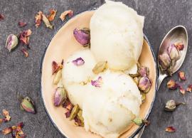 Recipe- Winter Special Badam aur Gulkand ki Kulfi