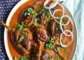 Recipe- Gujarati Style Bharwan Baingan